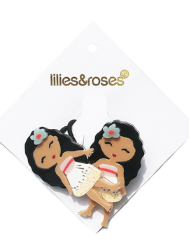Lilies and Roses Ponytail - Princess Doll Island - Lilies and Roses NY