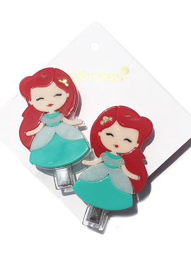 Lilies and Roses Alligator - Princess Doll Red Hair - Lilies and Roses NY