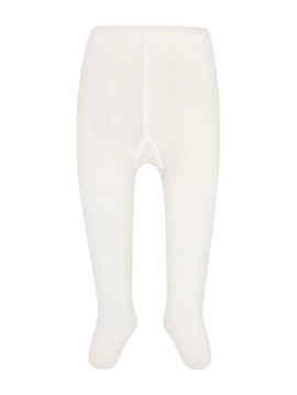 Mayoral Cream Solid Tights - Mayoral
