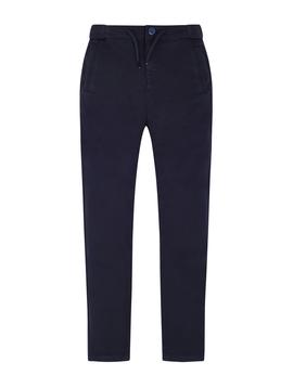 Mayoral Navy Skinny Cotton Pant - Mayoral Boy Clothing