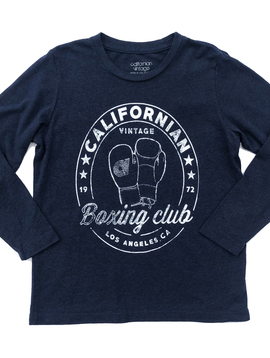 Californian Vintage Long Sleeve Crew - Boxing - Californian Vintage Kids