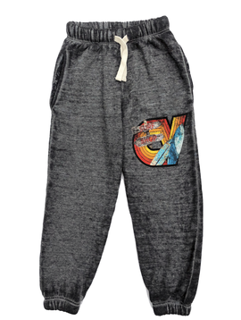 Californian Vintage Sweatpant - Grey Surf Wave - Californian Vintage Kids