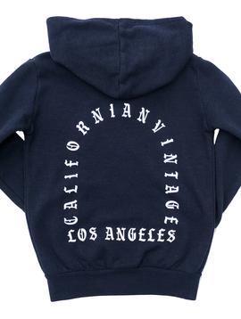 Californian Vintage Zip Hoodie Sweatshirt - West Coast - Californian Vintage Kids