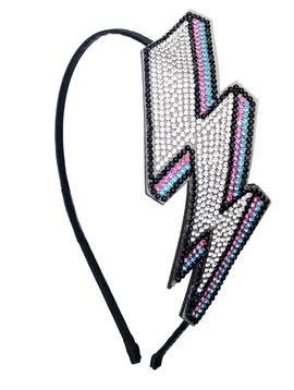 Bari Lynn Crystal Bolt Headband - Bari Lynn Accessories