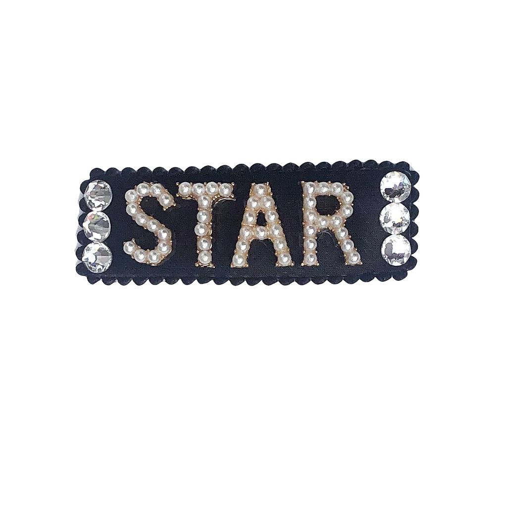 Bari Lynn Crystal Word Snap Clip - Bari Lynn Accessories