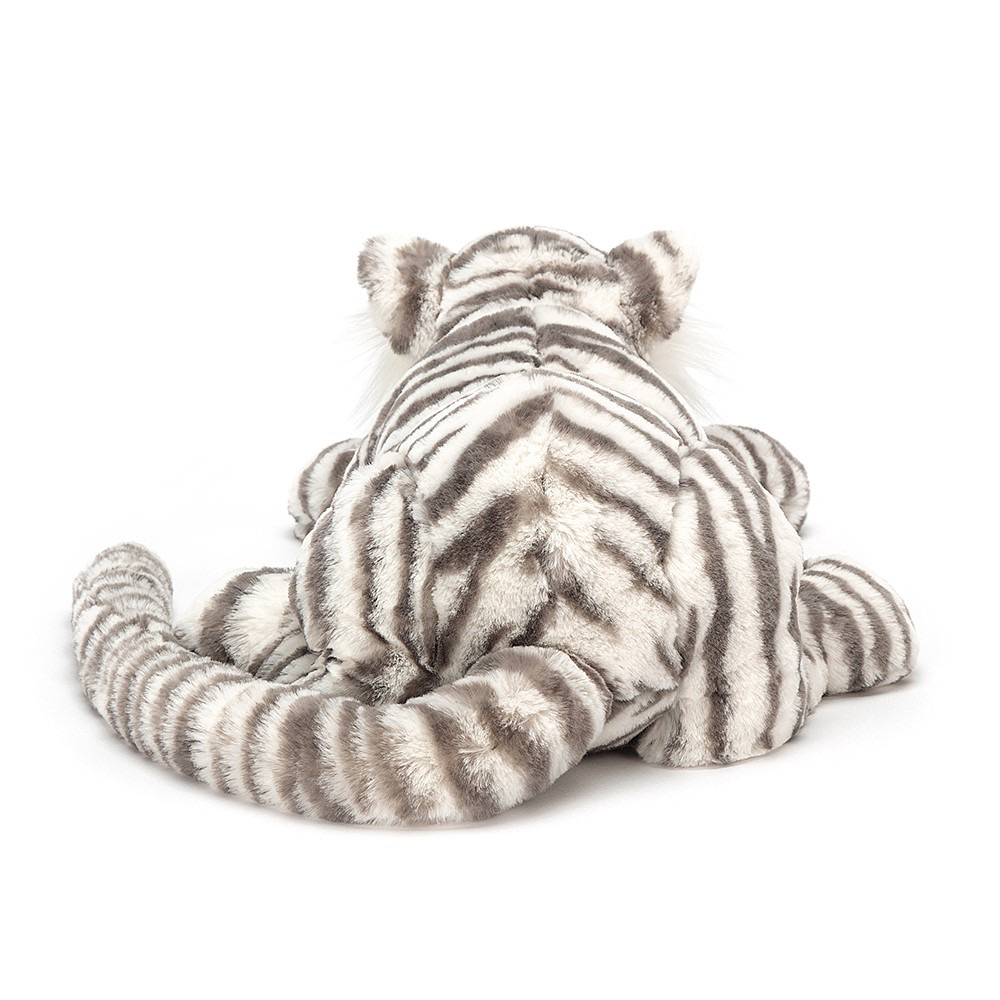 Jellycat Sacha Snow Tiger - Jellycat Toys