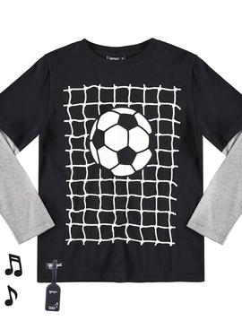 yporque kids Sound Tee - Soccer Goal - yporque kids