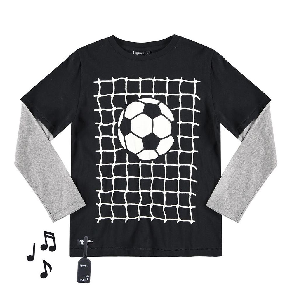 yporque Sound Tee - Soccer Goal - yporque kids