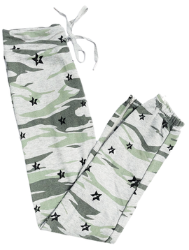 Global Love Camo Sweatpant with Stars - Global Love