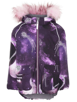molo Cathy Fur - Shooting Stars - Molo Kids Coat 2019