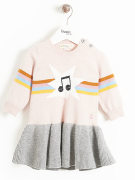 Bonnie Mob Bonnie Mob Rainbow Knit Dress