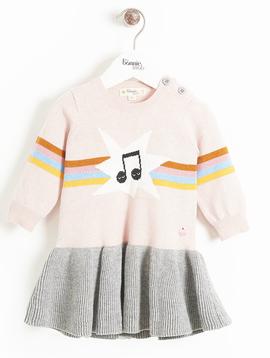 Bonnie Mob Rainbow Maggie Knit Dress - Bonnie Mob