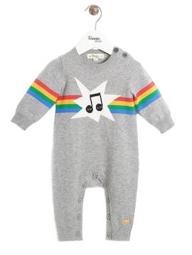 Bonnie Mob Music Baby Knit Playsuit - Bonnie Mob