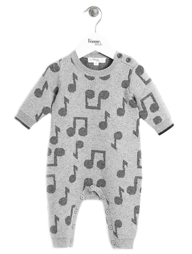 Bonnie Mob Bonnie Mob Music Jaquard Playsuit