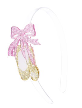 Lilies and Roses Headband - Bow Ballet Slippers - Lilies and Roses NY