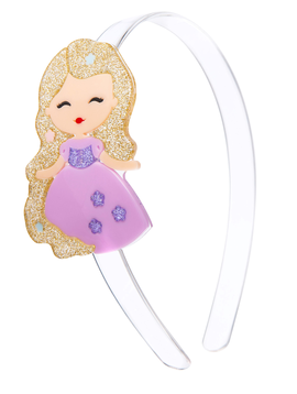 Lilies and Roses Headband - Princess Doll Purple - Lilies and Roses NY