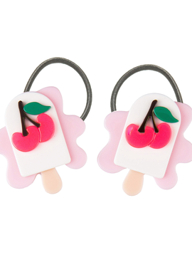 Lilies and Roses Ponytail - Neon Melting Popsicle - Lilies and Roses