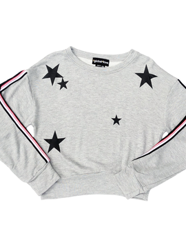 Global Love Sweatshirt with Stars - Global Love