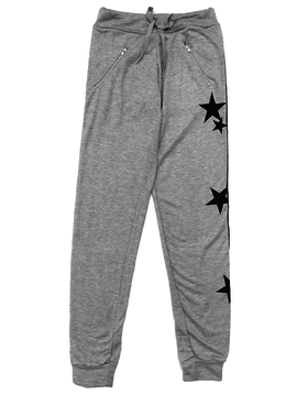 Global Love Zip Pocket Stars Joggers - Global Love