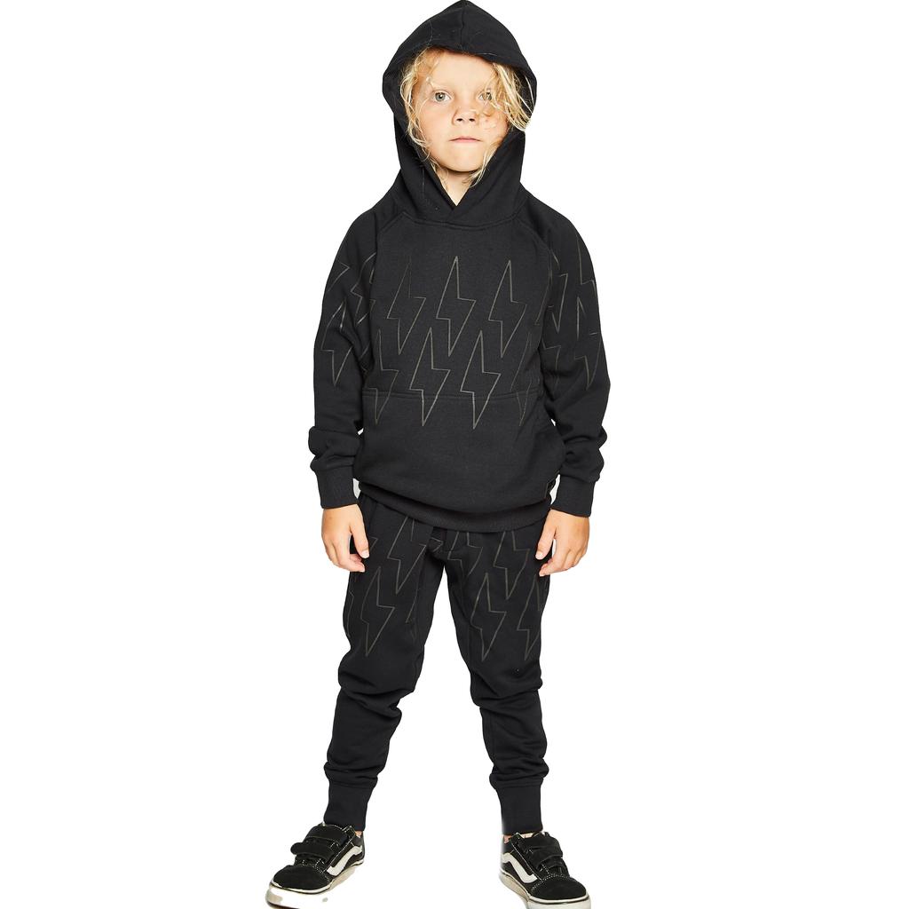 Munster Buzzer Fleece Pant - Black - Munster Kids