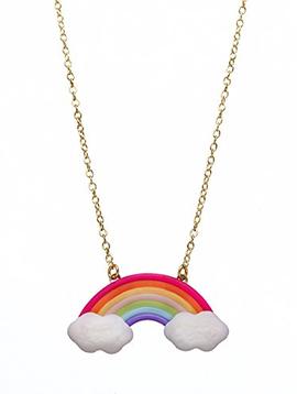 Bottleblond Bottleblond Rainbow Cloud Necklace