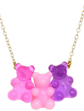 Bottleblond Gummy Bear Necklace - Bottleblond Kids Jewelry