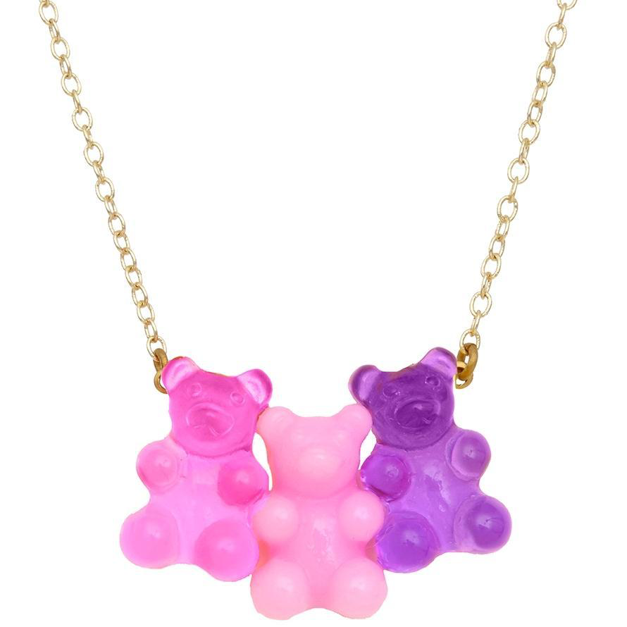 Bottleblond Gummy Bear Necklace - Bottleblond Kids Jewelry