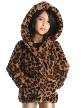 Appaman Cleo Faux Leopard Coat - Appaman Kids Clothing