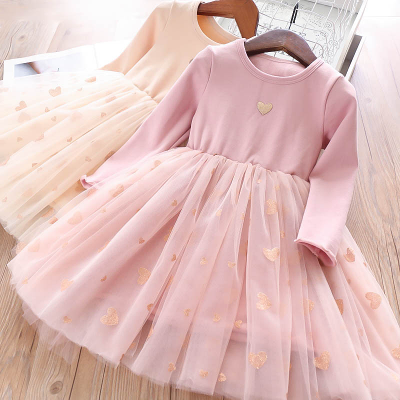 Survolte Hearts Pink Tulle Dress