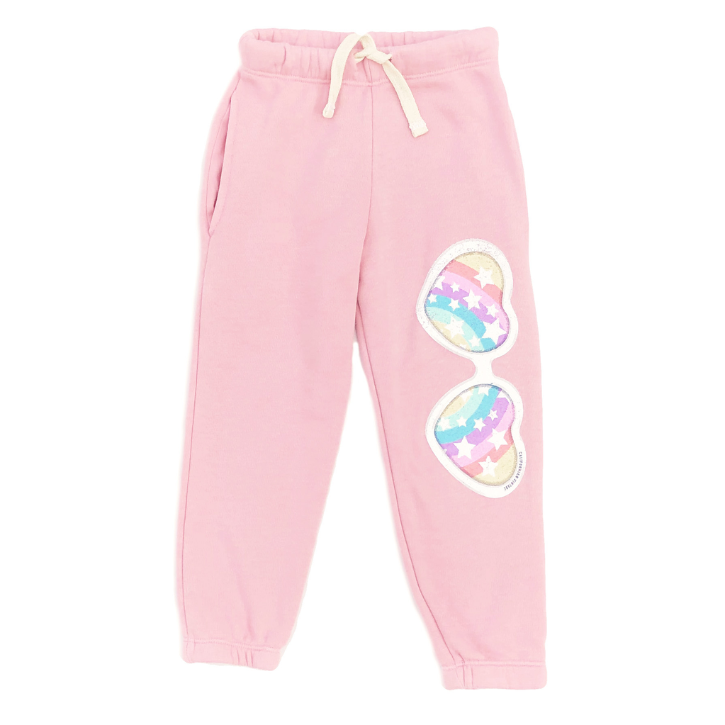 Californian Vintage Rainbow Pink Sweatpant - Californian Vintage Kids