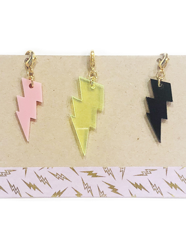 Bottleblond Lightning Bolt Zip Clips - Bottleblond Kids