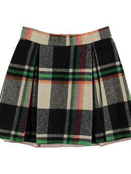 molo Beritta Check Skirt - Molo Kids Clothing