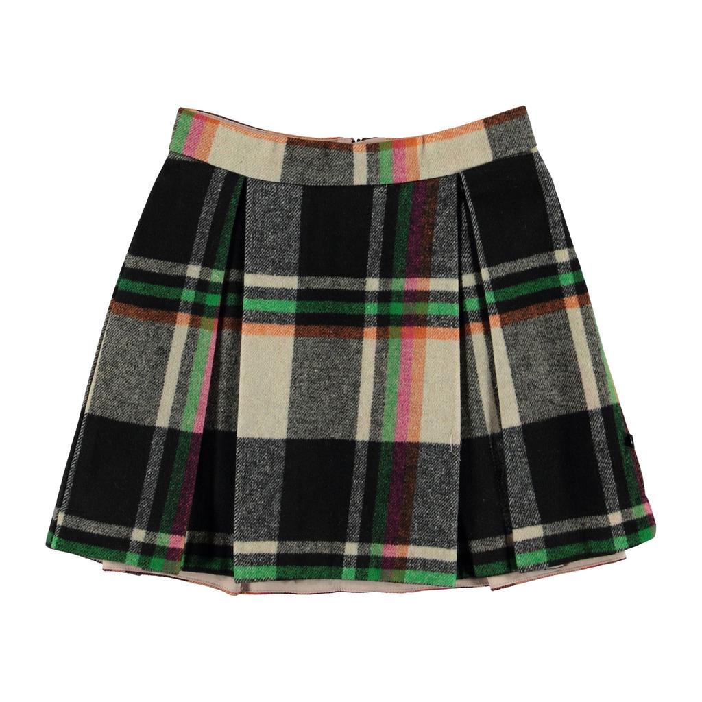 molo Beritta Check Skirt - Molo Kids Clothing