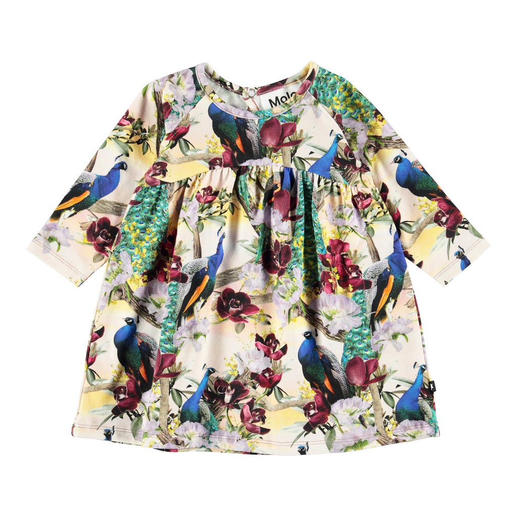 molo Carlys Dress - Oriental - Molo Kids Clothing