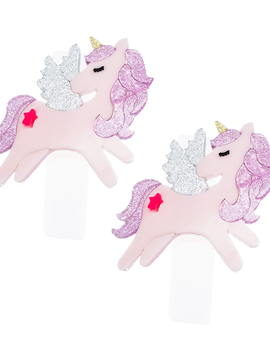 Lilies and Roses Alligator Clip - Unicorn Wings Pink - Lilies and Roses