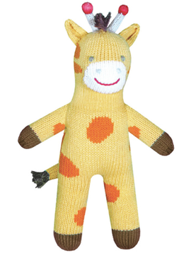 Zubels Joshua Giraffe - Zubels Knit Dolls