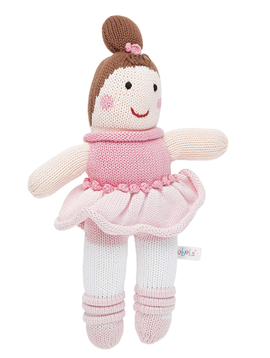 Zubels Bella Ballerina - Zubels Knit Dolls