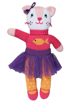 Zubels Kitty - Zubels Knit Dolls