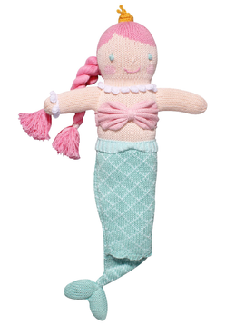 "Zubels Walking 18"" Mermaid - Zubel Knit Dolls"