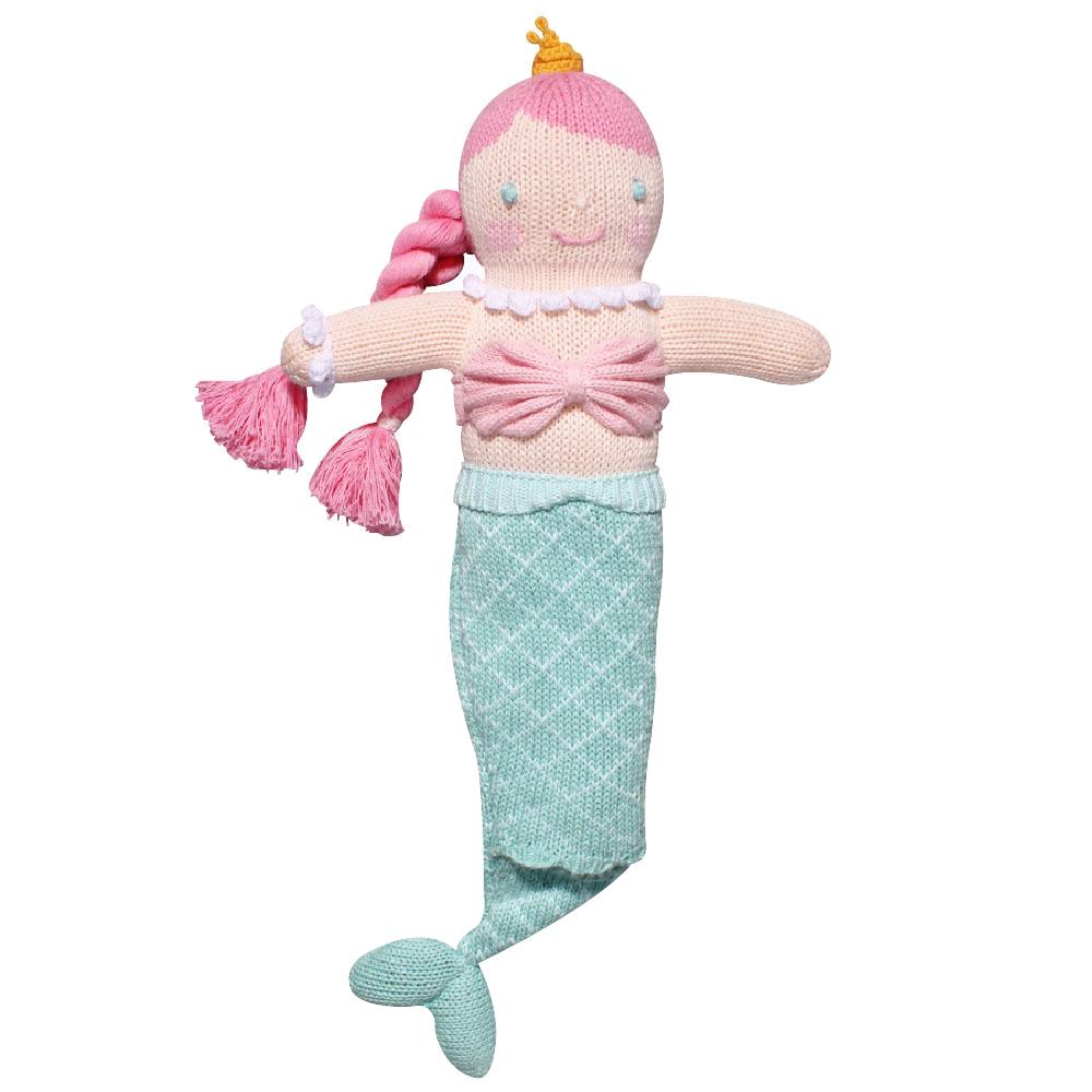 "Zubels Walking 18"" Mermaid - Zubel Knit Dolls"