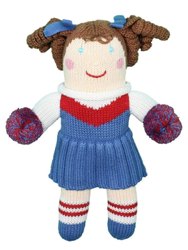 Zubels Royal Cheerleader - Zubels Knit Dolls