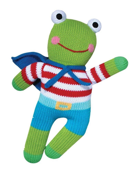 Zubels Freddy Frog - Zubels Knit Dolls