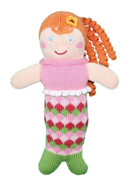 Zubels Penny Mermaid - Zebels Knit Dolls