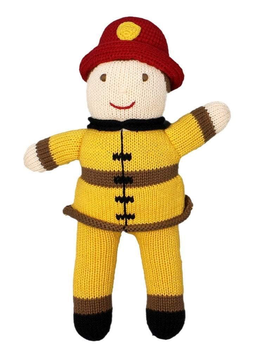 Zubels Fireman - Zubels Knit Dolls