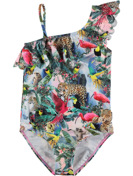 molo Net Swimsuit - Wild Amazon - Molo Kids Swimwear