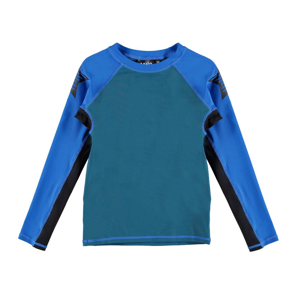 molo Neptune Rash Guard - Block - Molo Kids Swimwear