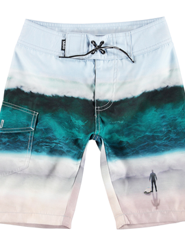 molo Nalvaro Boardies - Big Wave - Molo Kids Swimwear