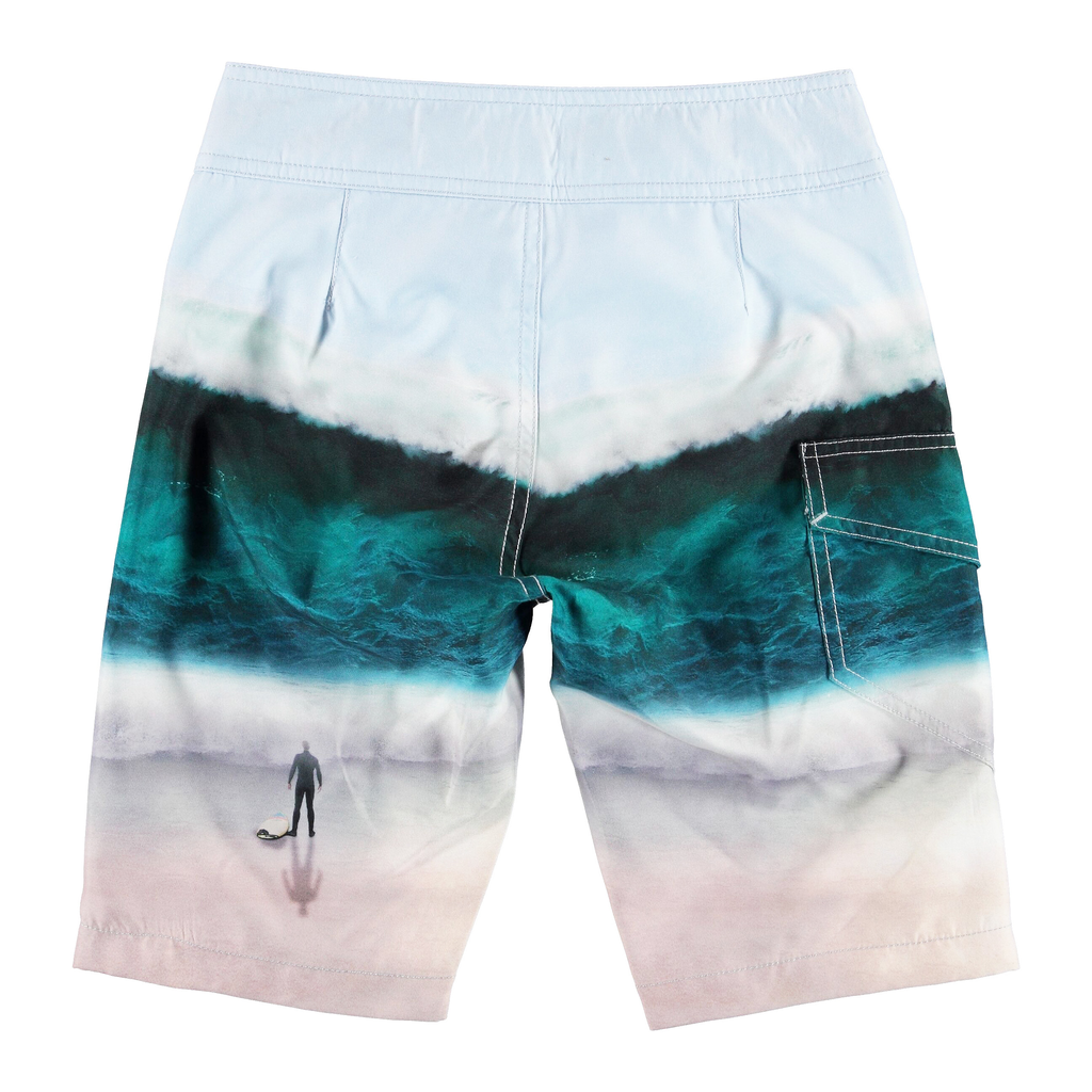 molo Nalvaro Boardies - Big Wave - Molo Kids Swimwear