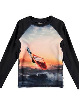 molo Neptune Rash Guard - Point Break - Molo Kids Swimwear