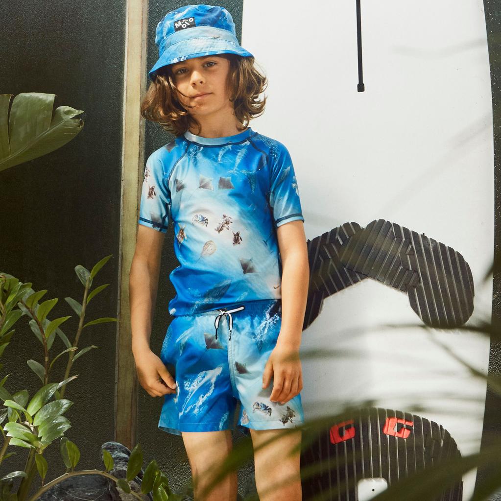 molo Nario Swim Trunk - Ocean - Molo Kids Swimwear